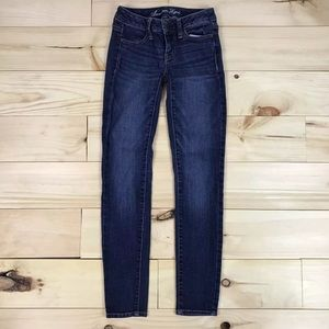 American Eagle Womens Jeans Stretch Jeggings Sz 00